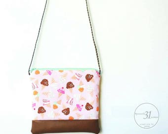 Little girls ice cream purse/summer purse