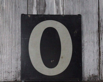 Antique 1925 Gas Station numbers