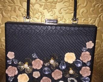 Flower Clutch Evening Bags