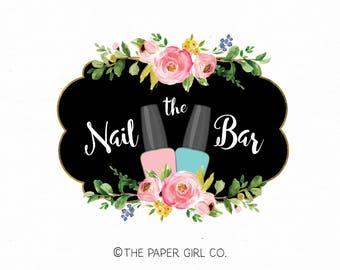 Nail technician logo | Etsy
