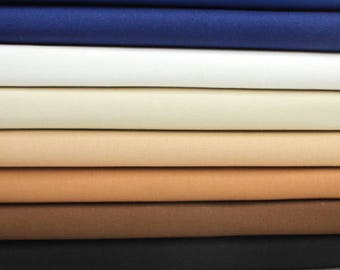 Duck Cloth Canvas Fabric 10 oz. Many Colors To Choose From Sold by 1/2 Yard