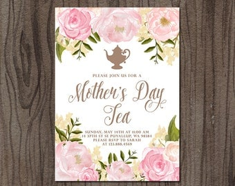 Mother's Day Invitation // Mother's Day Brunch
