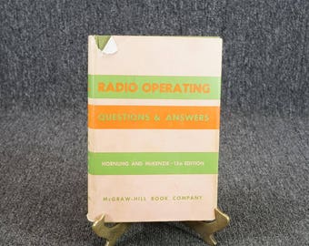 Radio Operating Questions And Answers By Hornung And Mckenzie 13Th Ed. C. 1964