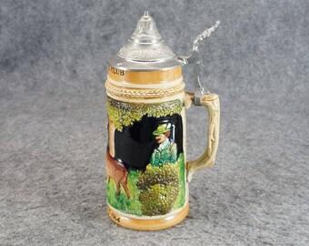 Vintage Weidmannsheil Beer Stein Oktoberfest 1964