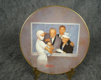 New Arrival American Family Series II Collectors Plate By Norman Rockwell