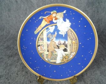 Franklin Mint 'Peter Pan Plate' By Carol Lawson