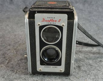 Kodak Duaflex II Kodet Lens C. 1950S
