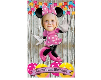 minnie mouse photo booth frame pink, minnie mouse frame, minnie mouse decorations, minnie mouse birthday, minnie mouse 2nd birthday