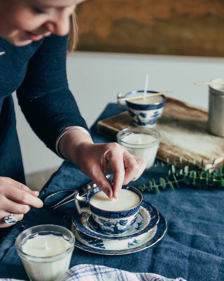 The Botanical Candle Co. Hand poured Soy Wax Candles