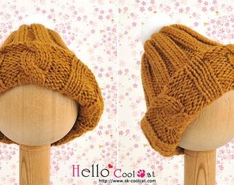 Blythe Pullip Doll Beanie (Sweater)  / Knit Cap (Also fit Taeyang / DD / MDD / SD bjd)