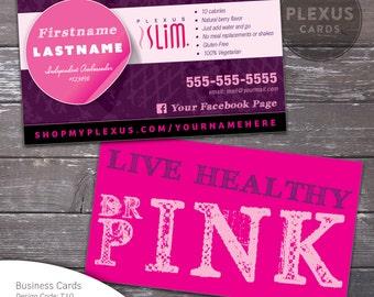 Plexus Slim Business Card Design [DIGITAL FILE]