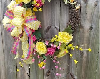 Spring Summer Wreath