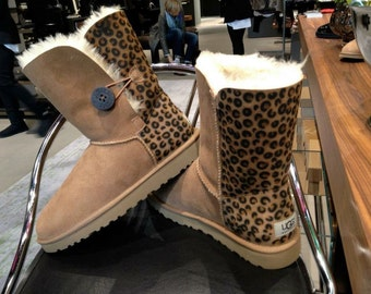 Custom Painted Airbrush UGG Australia Boots Leo Style *UNIKAT* Schuhe