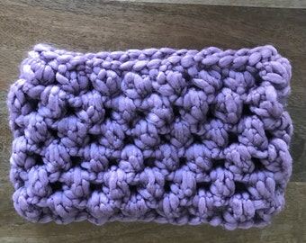 Chunky Crochet Cowl, Huge crochet cowl, super thick and soft cowl, handmade super chunky cowl, puffy crochet cowl, women's winter cowl, warm