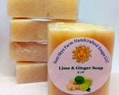 Lime and Ginger Soap - Gi...