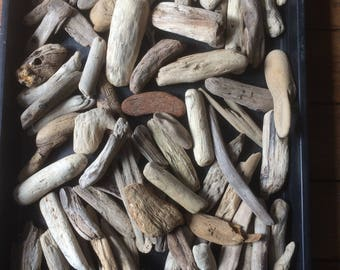 Driftwood pieces  80 Various Chunky shapes  ideal for arts and crafts