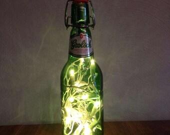 Grolsch Beer Bottle Lamp