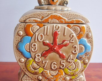 Vintage Made In Japan Cookie Jar Ceramic Cookie Jar