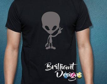 Fathers Day Gift-Alien-Ufo T-Shirt,I want to believe Tshirt,Alien we come in peaceT-shirt,Custom T-shirt,Graphic T Shirt,Tshirt,Gift for Dad