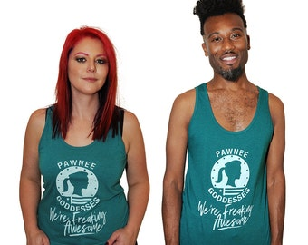 We're Freaking Awesome shirt.  American Apparel unisex tank top, sizes xs, small, meduim, large, and XL