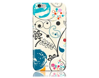 iPhone 7 Case #Paisley Artwork Cool Design Hard Phone Case