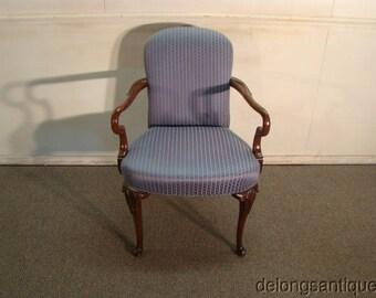 hickory chair queen ann arm chair