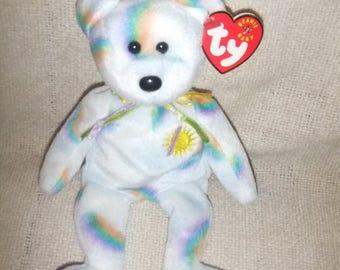 "VintageTy Beanie Bear ""Cheery""  Birthday 8/18/2000      #6"