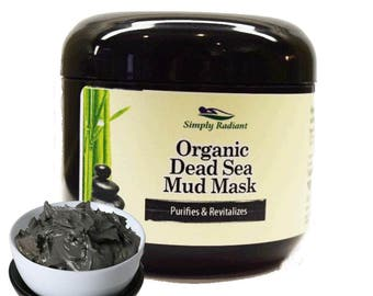 Organic Dead Sea Mud Mask|VEGAN Face Mask|Natural Skin Care