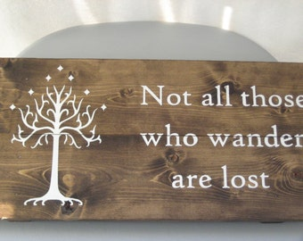 Large Not All Those Who Wander Are Lost