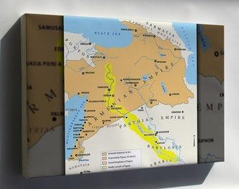 Canvas 16x24; Armenian Empire And Lesser Armenia
