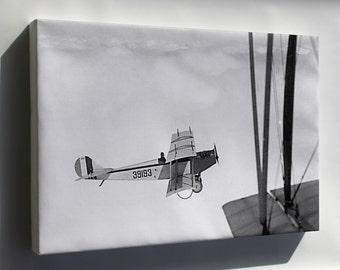 Canvas 16x24; Curtiss Jn-4 Jenny P3