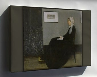 Canvas 16x24; Whistlers Mother By James Mcneill Whistler