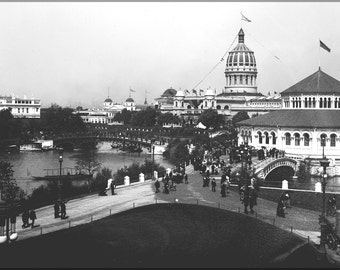 16x24 Poster; Jackson Park (Chicago) During The 1893 World'S Columbian Exposition Chicago Worlds Fair