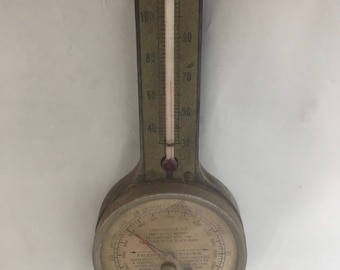 Thermometer and Barometer - swift & anderson Boston