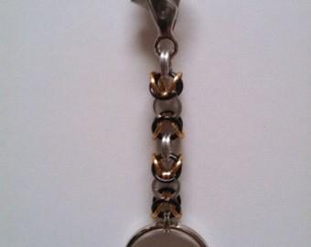 Byzantine Chainmail Keychain