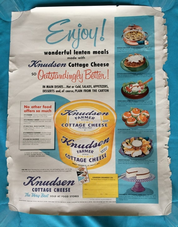 Vintage Grocery Store Advertisement Posters Luer Ham