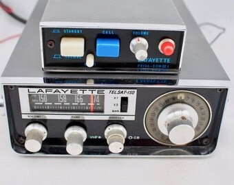 Vintage Lafayette TelSat 150 CB Radio, LaFayette Preva-Com III A