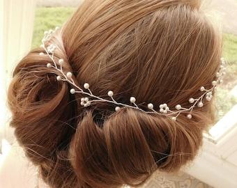 """Bridal Hair Vine - """"Syreeta"""""""