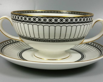 WEDGWOOD COLONNADE Cream Soup Bowls