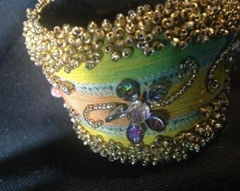 Silk Summer's Breaze Cuff Bracelet