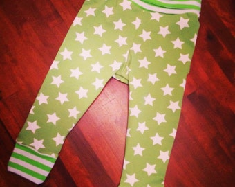 Rainbow Bubba 'Green with envy' Leggings in Size 1