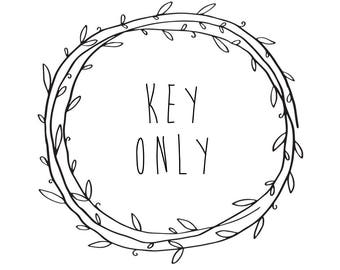 key only (no chain)