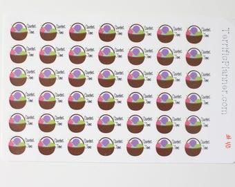 Crochet Time Sticker  For Planner  #040