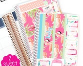 MV19 July BILLS DUE Month in View Life Planner Stickers!  A Perfect fit for the Erin Condren Planner!!!
