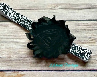 Infant Headband, Baby Headband, Baby Shower Gift, Baby Headband, Baby Headband Flower, Baby Girl Gift, Baby Hair Accessory, Stocking Stuffer