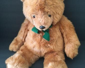 Vintage 1987 Gund brown bear