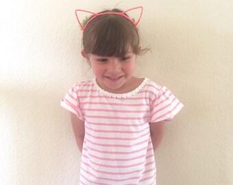 Cat Ears Headband/Party Favor Cat Ears/Cat Ears/Cats/Kids Cat Ears/Party favors/Birthday/Birthdays