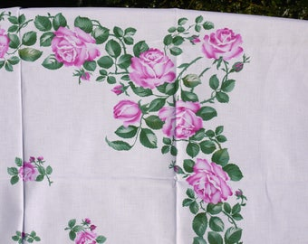 Tablecloth, ceiling roses, rose vine, rose arch, spring
