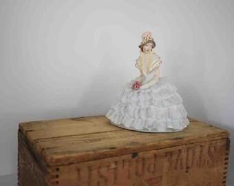 Vintage Victorian Era Chalkware Figurine