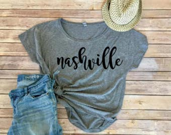 Nashville Dolman - Triblend Tee - Women's Shirt - Women's Clothing - Nashville Bride - Girls Trip Shirt - Nashville Tee